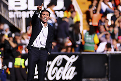 December 23, 2018 - Valencia, Spain - Head coach of Valencia CF Marcelino Garcia Toral. during  spanish La Liga match between Valencia CF vs SD Hueca at Mestalla Stadium on December 23, 2018. (Photo by Jose Miguel Fernandez/NurPhoto) (Credit Image: © Jose Miguel Fernandez/NurPhoto via ZUMA Press)