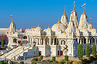 Inde; Gujarat, Kutch, nouveau temple Swaminarayan // India, Gujarat, Kutch, Bhuj, new Swaminarayan temple