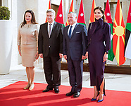 Queen Rania & King Abdullah - Macedonia Visit