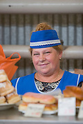 At the market...A river cruise from Moscow to St. Petersburg aboard MS Kazan, the most luxurious vessel (four star plus) operating in Russia. It is run by Austrian River Cruises under strictly Western standards, chartered - amongst others - by Club 50, a senior's travel agency based in Vienna.