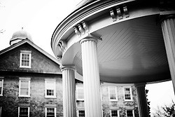 2014 February 09: Old Well at the University of North Carolina at Chapel Hill in Chapel Hill, NC.