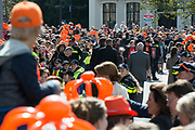 De koninklijke familie is in Zwolle voor de viering van Koningsdag. /// The royal family is in Zwolle for the celebration of King's Day.<br /> <br /> Op de foto / On the photo: