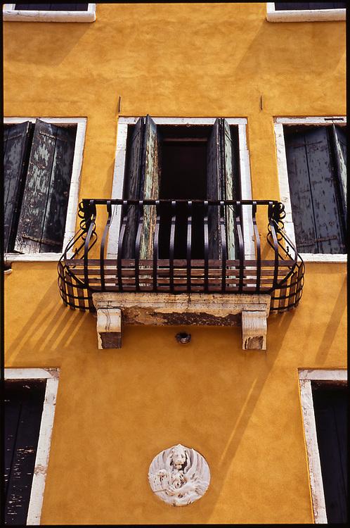 Balcony, Venice, Italy