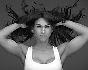 Studio shooting with IFBB Pro Bikini Fitness Athlete Priscilla Leimbacher. Currently leading the world ranking list.