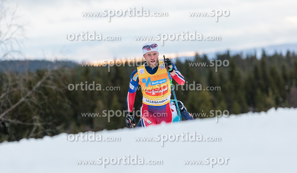 05.12.2015, Nordic Arena, NOR, FIS Weltcup Langlauf, Lillehammer, Herren, im Bild Martin Johnsrud Sundby (NOR) // Martin Johnsrud Sundby of Norway during Mens Cross Country Competition of FIS Cross Country World Cup at the Nordic Arena, Lillehammer, Norway on 2015/12/05. EXPA Pictures © 2015, PhotoCredit: EXPA/ JFK