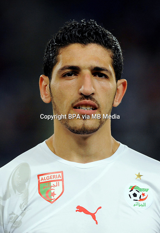 Football Fifa Brazil 2014 World Cup / <br /> Algeria National Team - <br /> Rafik Halliche of Algeria