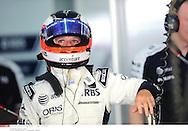 Grand prix de Bahraïn 2010..Circuit de shakir. 12 mars 2010..Premiere séance d'essai...Photo Stéphane Mantey/ L'Equipe. *** Local Caption *** barrichello (rubens) - (bre) -