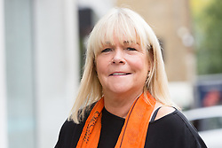 © Licensed to London News Pictures. 09/09/2015. London, UK. Linda Robson arrives at the ITV Studios in London. Photo credit : Vickie Flores/LNP