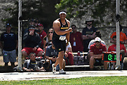 Avery Carter (732) of Missouri throws in the hammer during the NCAA West Track & Field Preliminary, Thursday, May23, 2019, in Sacramento, Calif.