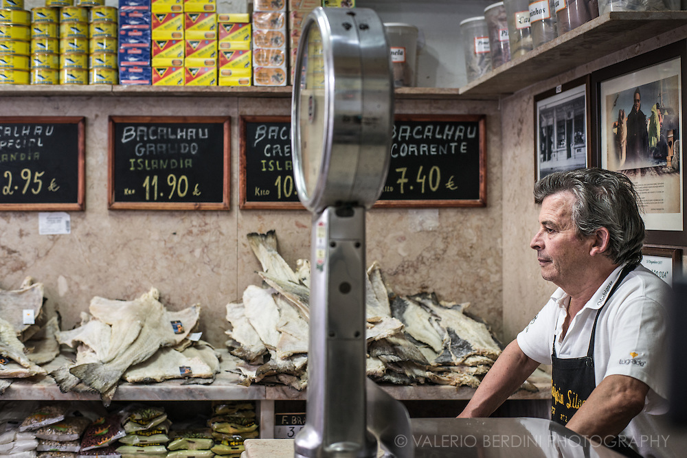 One of the oldest shop for bachalau (portogues for salted, dried cod) in Lisbon. Bachalau is a classic of Portoguese cuisine and it is said they have 365 different recipes, one for each day of the year.