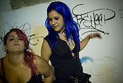 Dirty Princess are Yasmin and Nikky, a Spanish band that has a distinct electro-disco-punk sound and a really disturbing show on stage, where they mix a hot sexual performance with transgressive lyrics. It was founded by producers Big Toxic and Nikky Schiller.