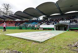 Mestni stadion Fazanerija during football match between ND Mura and ND Ilirija 1911 in Round #18 of 2.SNL 2017/18 on March 11, 2018 in Mestni stadion Fazanerija , Murska Sobota , Slovenia. Photo by Mario Horvat / Sportida