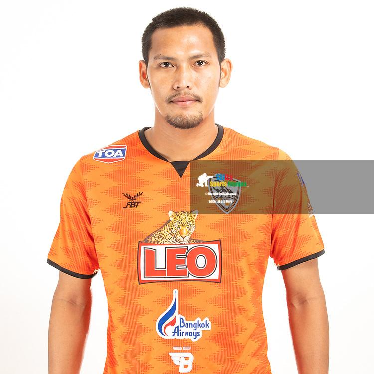 THAILAND - JUNE 04: Tanasak Srisai #3 of Singha Chiangrai United on June 04, 2019.<br /> .<br /> .<br /> .<br /> (Photo by: Naratip Golf Srisupab/SEALs Sports Images/MB Media Solutions)
