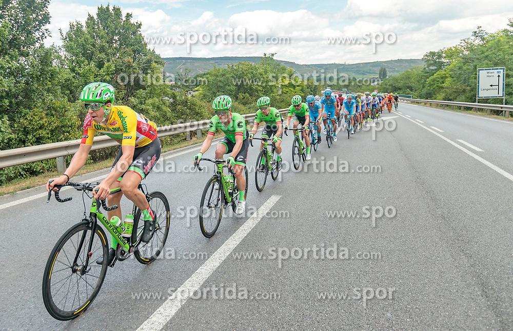 04.07.2017, Pöggstall, AUT, Ö-Tour, Österreich Radrundfahrt 2017, 2. Etappe von Wien nach Pöggstall (199,6km), im Bild Sep Vanmarcke (BEL, Cannondale Drapac Professional Cycling Team), Feature Buffet // during the 2nd stage from Vienna to Pöggstall (199,6km) of 2017 Tour of Austria. Pöggstall, Austria on 2017/07/04. EXPA Pictures © 2017, PhotoCredit: EXPA/ JFK