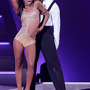 NLD/Hilversum/20120901 - 2de liveshow AVRO Strictly Come Dancing 2012, Sylvana Simons en danspartner Redmond Valk