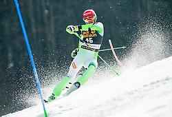 KUERNER Miha of Slovenia competes in 1st Run during Men Slalom race of FIS Alpine Ski World Cup 54th Vitranc Cup 2015, on March 15, 2015 in Kranjska Gora, Slovenia. Photo by Vid Ponikvar / Sportida