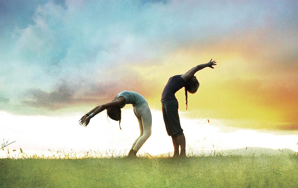 Sky opener, Yoga Photo-illustration