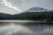 Mt Rainer and Reflection Lake.