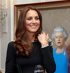 Wellington-Royal Visit, unveiling of a new portrait of the Queen