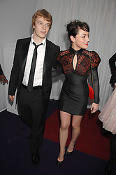 ALFIE ALLEN and JAIME WINSTONE at the 2008 Glamour Women of the Year Awards 2008 held in the Berkeley Square Gardens, London on 3rd June 2008.<br />