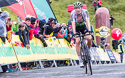 12.07.2019, Kitzbühel, AUT, Ö-Tour, Österreich Radrundfahrt, 6. Etappe, von Kitzbühel nach Kitzbüheler Horn (116,7 km), im Bild Stefan De Bod (Team Dimension Data, RSA) // during 6th stage from Kitzbühel to Kitzbüheler Horn (116,7 km) of the 2019 Tour of Austria. Kitzbühel, Austria on 2019/07/12. EXPA Pictures © 2019, PhotoCredit: EXPA/ JFK