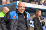 Reading FC Manager Brian McDermott during the Sky Bet Championship match between Reading and Birmingham City at the Madejski Stadium, Reading, England on 9 April 2016. Photo by Mark Davies.