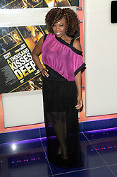 Dominique Moore attends A Thousand Kisses Deep UK film premiere gala screening of Dana Lustig's drama about domestic violence, raising funds for Women's Aid.The film stars Dougray Scott, Jodie Whittaker and Emilia Fox, Tuesday June 12, 2012. Photo By Chris Joseph