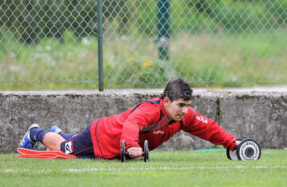 Malborghetto Valbruna 23/07/2011.Al via il ritiro della US Triestina calcio..© foto di Simone Ferraro