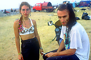 Couple, The Mother Festival, Somerset, 1995