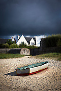 "Boat pulled up on the beach, Brignogan Plage, Brittany This mage can be licensed via Millennium Images. Contact me for more details, or email mail@milim.com For prints, contact me, or click ""add to cart"" to some standard print options."