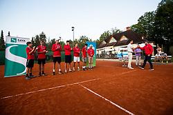 Tenis senior league finals in Sport park Kranj, 15th of September, 2019, Kranj, Slovenija. Photo by Grega Valancic / Sportida