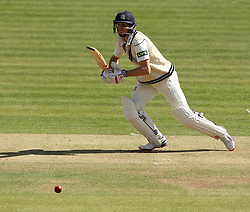 Middlesex's Josh Simpson on his way to fifty - Photo mandatory by-line: Robbie Stephenson/JMP - Mobile: 07966 386802 - 03/05/2015 - SPORT - Football - London - Lords  - Middlesex CCC v Durham CCC - County Championship Division One