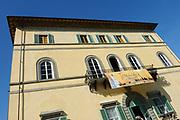 Castpresentatie romantische komedie Toscaanse Bruiloft in Villa Rossi Lucca, Italie<br /> <br /> Op de foto:   Villa Rossi Lucca