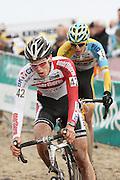 NETHERLANDS / NEDERLAND / PAYS BAS / GIETEN / CYCLING / WIELRENNEN / CYCLISME / CYCLOCROSS / VELDRIJDEN /  HANSGROHE SUPERPRESTIGE VELDRIJDEN / JUNIORS / STIJN CALUWE /