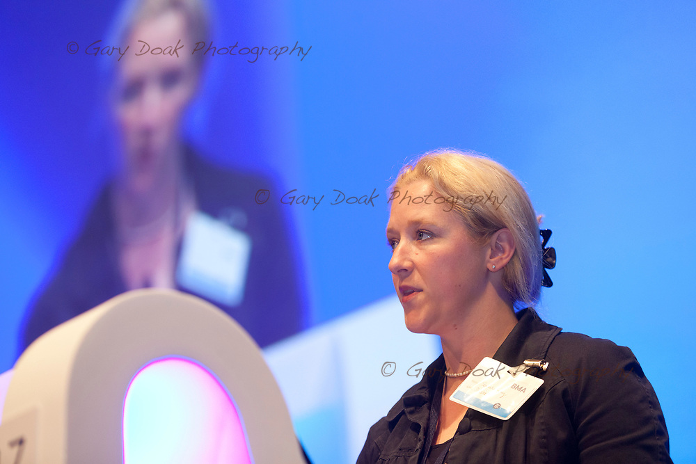 Sarah Kay<br /> BMA LMC's Conference<br /> EICC, Edinburgh<br /> <br /> 18th May 2017<br /> <br /> Picture by Gary Doak