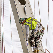 Painting and miscellaneous repairs at Reedy Point Bridge, Delaware City, DE.<br /> <br /> 06-06-2013