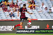 SYDNEY, NSW - JANUARY 18: Western Sydney Wanderers player Mathieu Cordier (14) controls the ball at the Hyundai A-League Round 14 soccer match between Western Sydney Wanderers and Adelaide United at ANZ Stadium in NSW, Australia 18 January 2019. Image by (Speed Media/Icon Sportswire)
