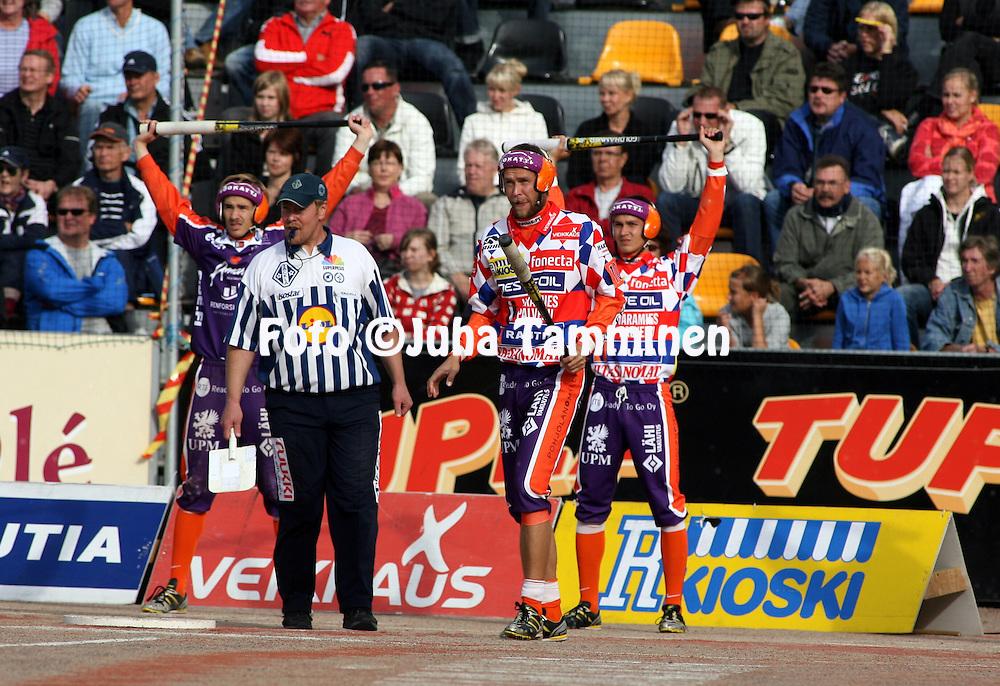 05.09.2009, Kouvola..Superpesis 2009, 1. loppuottelu.Kouvolan Pallonly?j?t - Sotkamon Jymy.Mikko Huotari - Sotkamo.©Juha Tamminen.