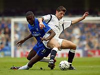 FA Premier League - 12th April 2003 - Chelsea v Bolton<br />Chelsea's Carlton Cole and Bolton Wanderers'  Anthony Barness