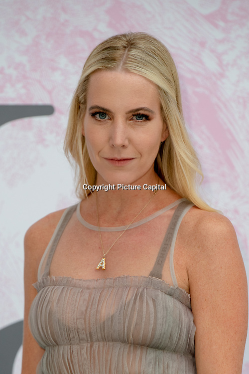 Alice Naylor Leyland arrives at V&A - summer party, on 19 June 2019, London, UK