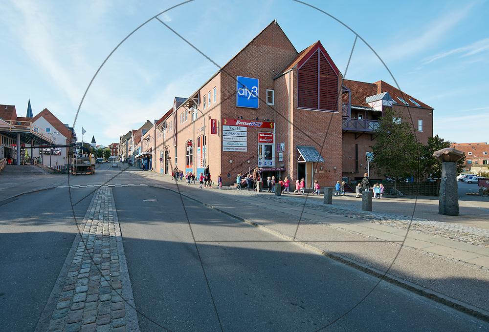 City 3, Slagelse, registrering før bygning af campus, Syddansk Universitet