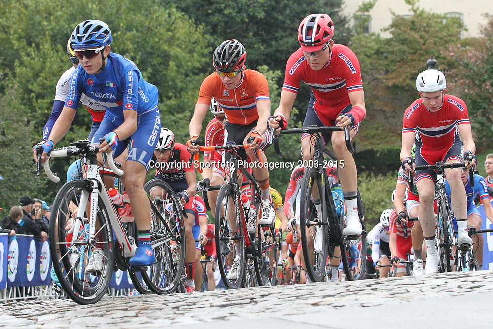 RICHMOND (USA) wielrennen<br /> Dennis van der Horst in actie op het WK wielrennen in Richmond