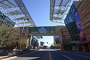 January 22, 2015; Phoenix, AZ, USA; General view of the NFL Experience at the Phoenix Convention Center in advance of Super Bowl XLIX between the Seattle Seahawks and the New England Patriots.