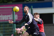 Dundee&rsquo;s Marcus Haber and Kerr Waddell -  Dundee FC - Pre-season training at University Grounds, Riverside, Dundee, Photo: David Young<br /> <br />  - &copy; David Young - www.davidyoungphoto.co.uk - email: davidyoungphoto@gmail.com