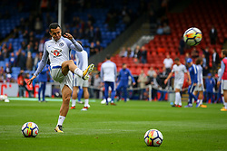 Pedro of Chelsea warms up - Mandatory by-line: Jason Brown/JMP - 14/10/2017 - FOOTBALL - Selhurst Park - London, England - Crystal Palace v Chelsea - Premier League