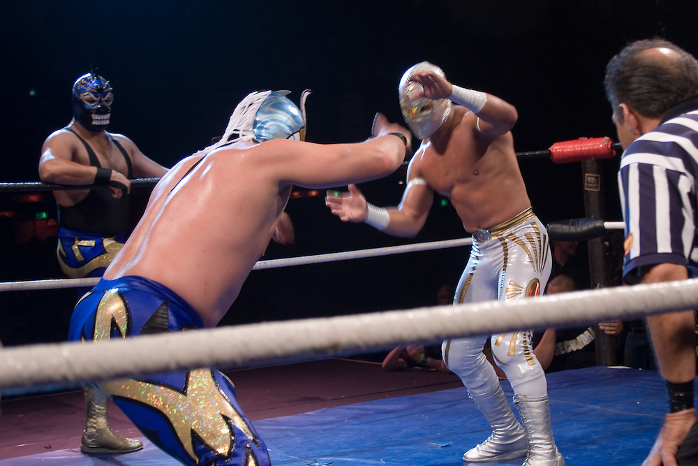 Mexican Masked Wrestling at it's finest, the Luchadores of Lucha Va Voom are high energy entertainment. These photos were shot during matches from 2004-2005