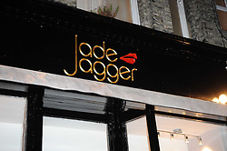 Atmosphere at the opening of Jade Jagger's shop at 43 All Saints Road, London W11 on 25th November 2009.