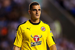 Vito Mannone of Reading - Mandatory by-line: Robbie Stephenson/JMP - 03/08/2018 - FOOTBALL - Madejski Stadium - Reading, England - Reading v Derby County - Sky Bet Championship