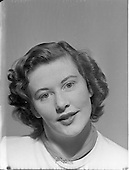 1952 Photo of Miss Betty Cronin