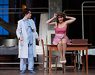 Ariadne auf Naxos- Glyndebourne Festival Opera, <br /> Directed by Katherine Thomas <br /> Set Design Julia Muer<br /> Lighting - Olaf Winter.<br /> <br /> Erin Morely as Zerbinetta